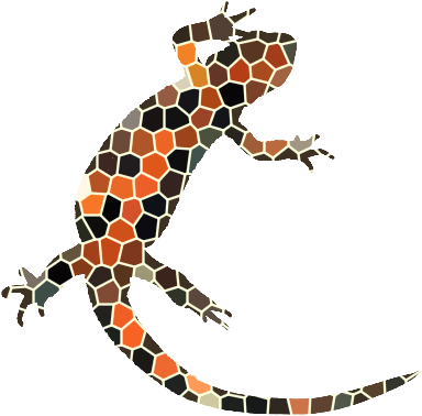 newtfire DH courses mosaic firebelly logo